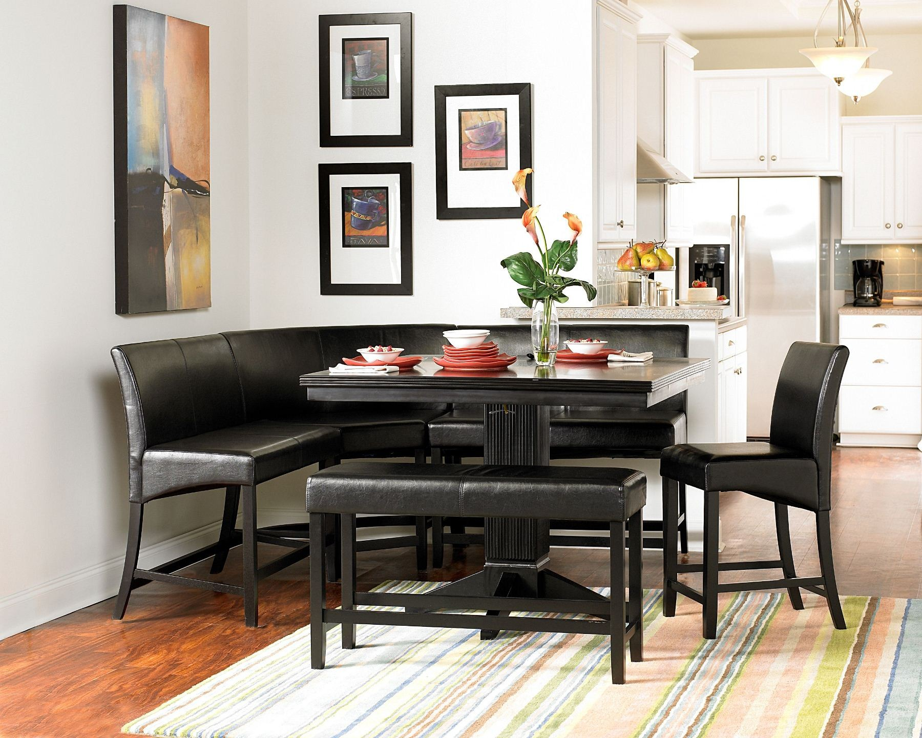 Papario Nook Counter Height Dining Table From Homelegance