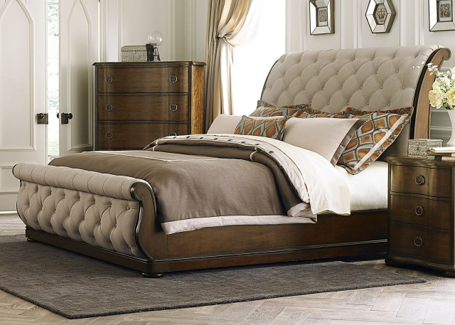 Cotswold King Upholstered Sleigh Bed from Liberty 545 BR KSL