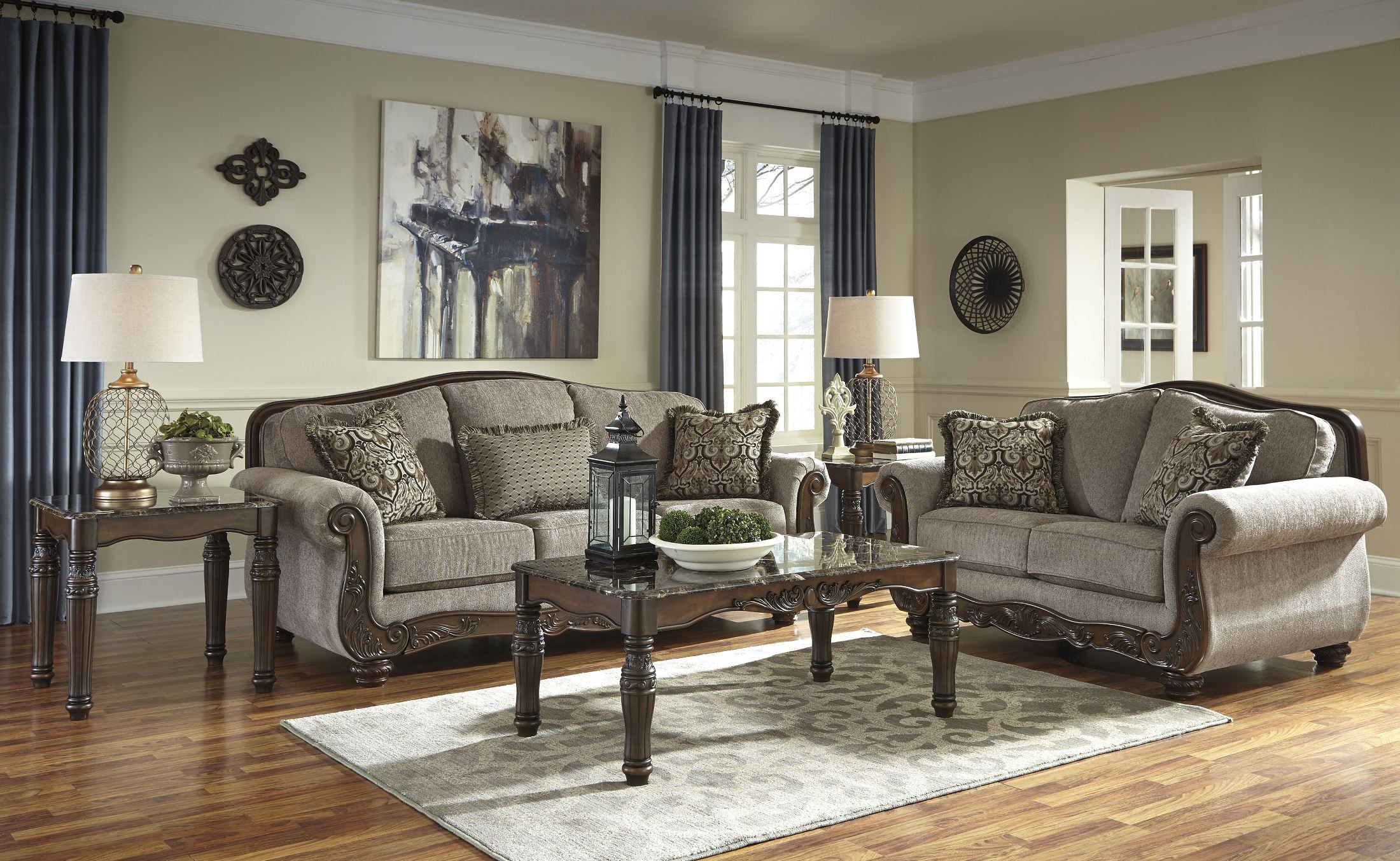 Living Ashley Gallery Furniture Room