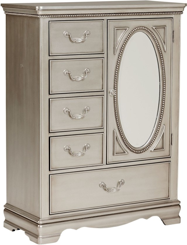 Jessica Silver Posh Silver Youth Panel Bedroom Set from Standard