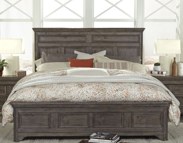 Shelter Cove Driftwood Panel Bedroom Set from Magnussen Home