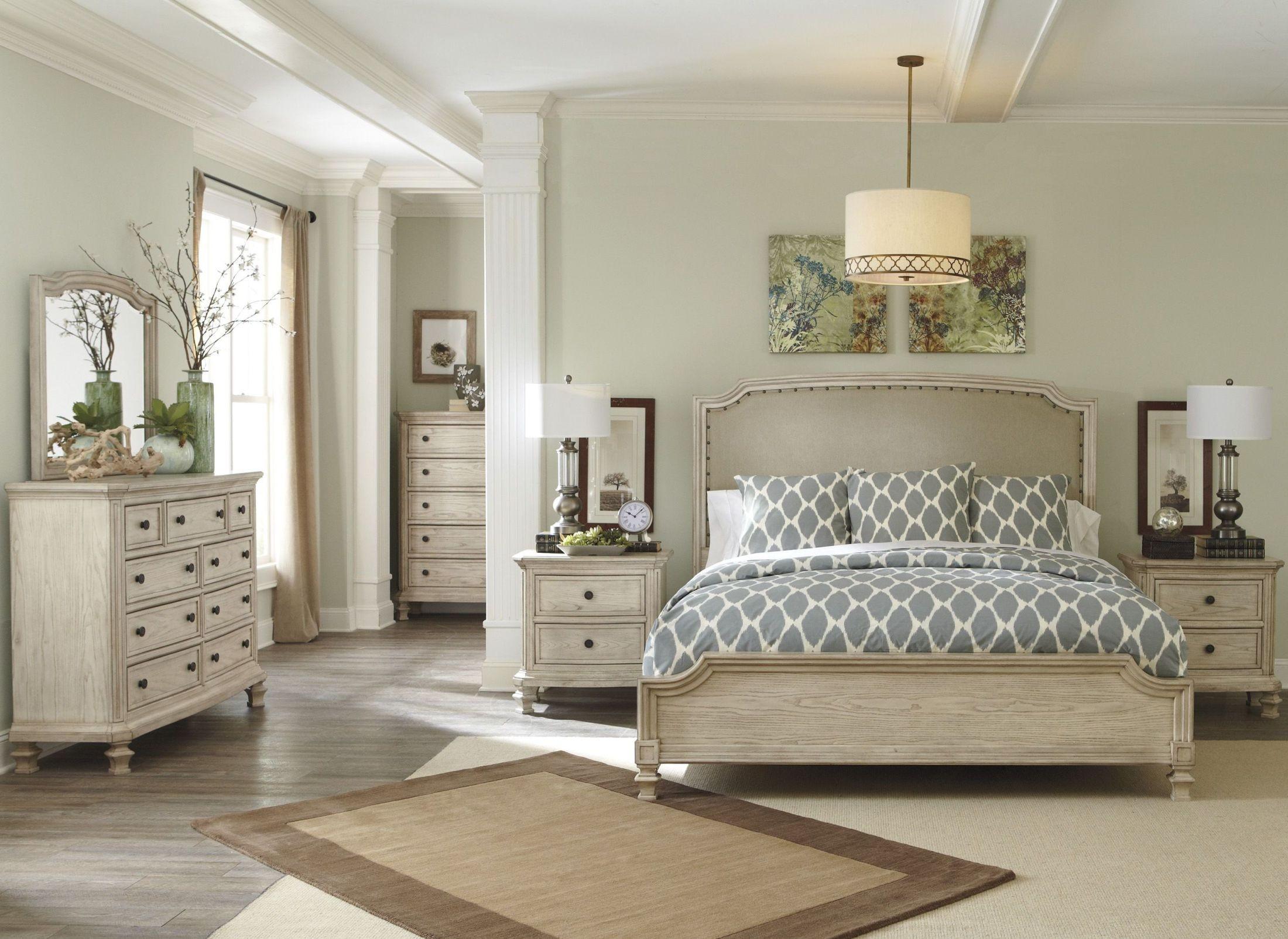 Demarlos Upholstered Panel Bedroom Set From Ashley B693
