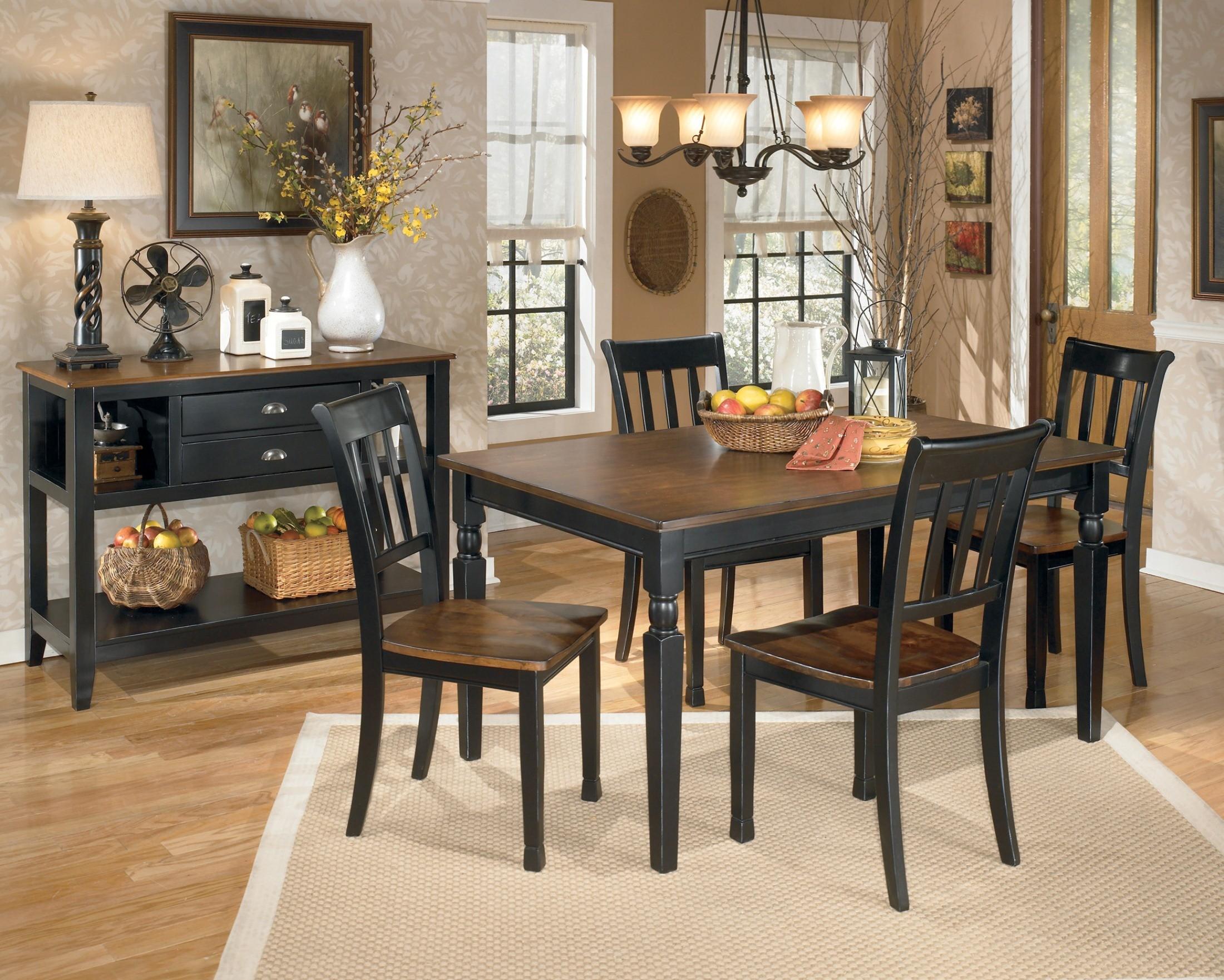 Owingsville Rectangular Dining Room Set From Ashley D580