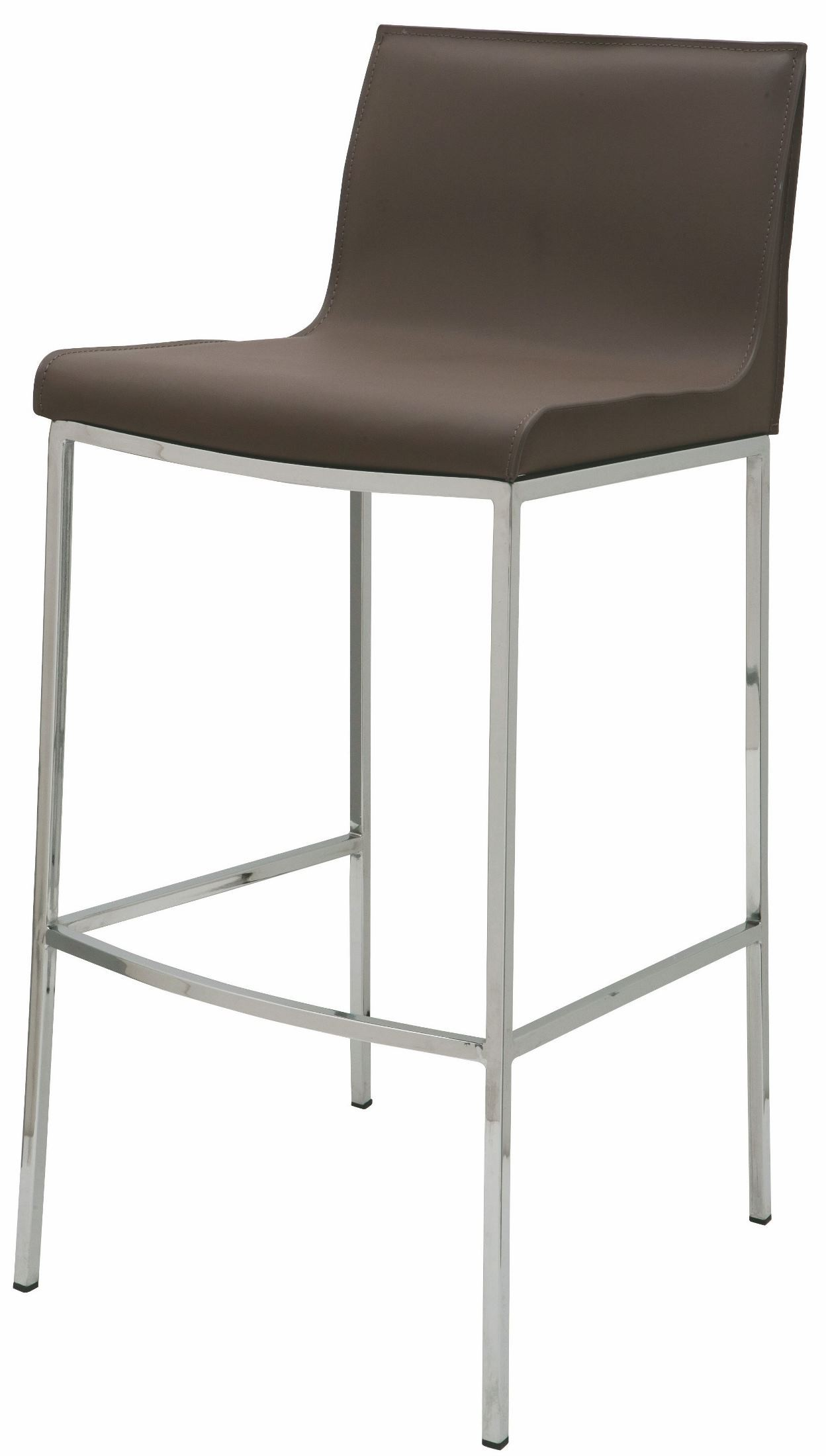 Colter Mink Leather Bar Stool From Nuevo Coleman Furniture