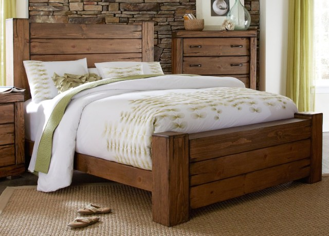 Maverick Driftwood Panel Bedroom Set from Progressive Furniture