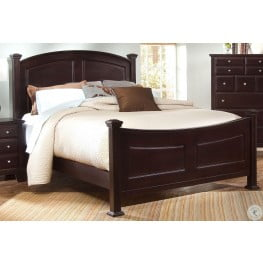 starberry black queen poster bed from