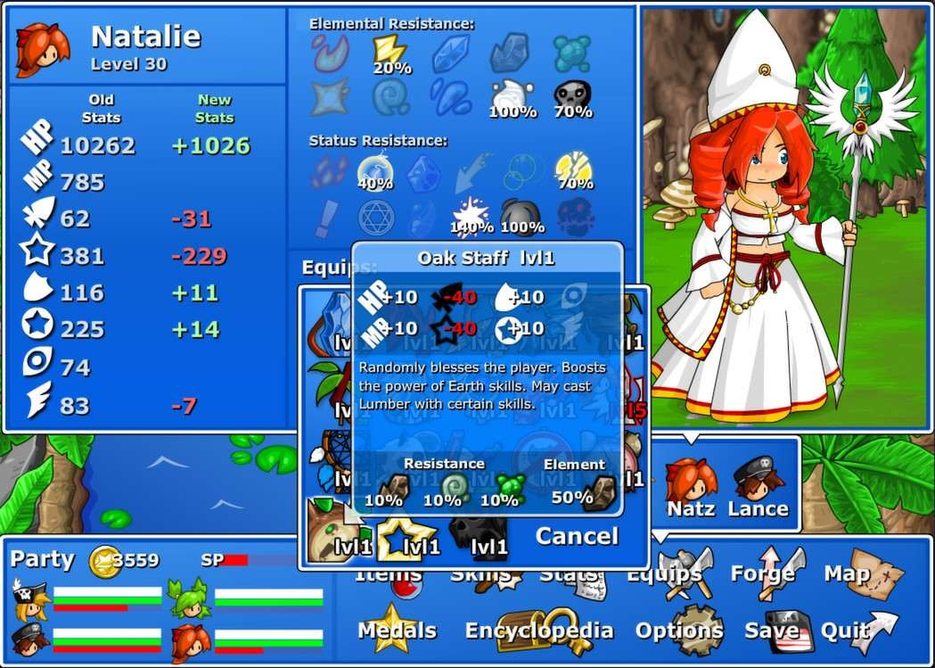 Epic Battle Fantasy 4 - Đánh Giá Game