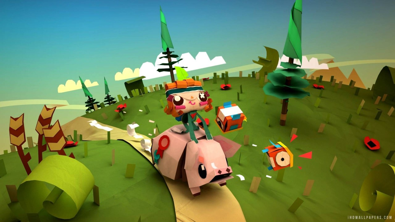 Tearaway Unfolded - Đánh Giá Game