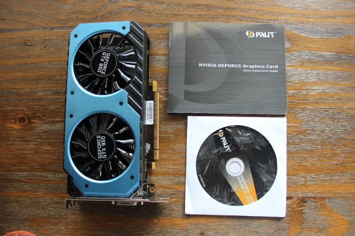 """Palit GTX 950 StormX Dual 2GB - """"Cơn lốc xanh"""" đến từ Palit"""