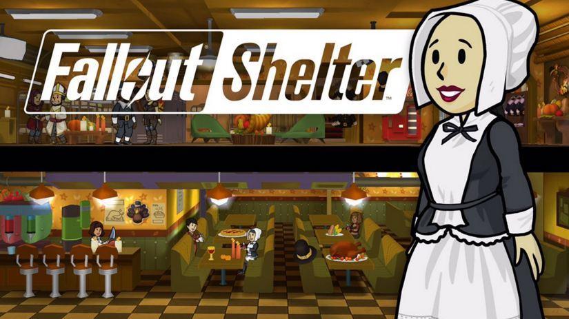 Fallout Shelter ra mắt bản cập nhật Lễ Tạ Ơn