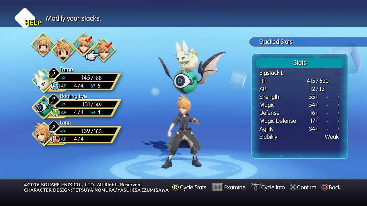 World of Final Fantasy - Đánh Giá Game