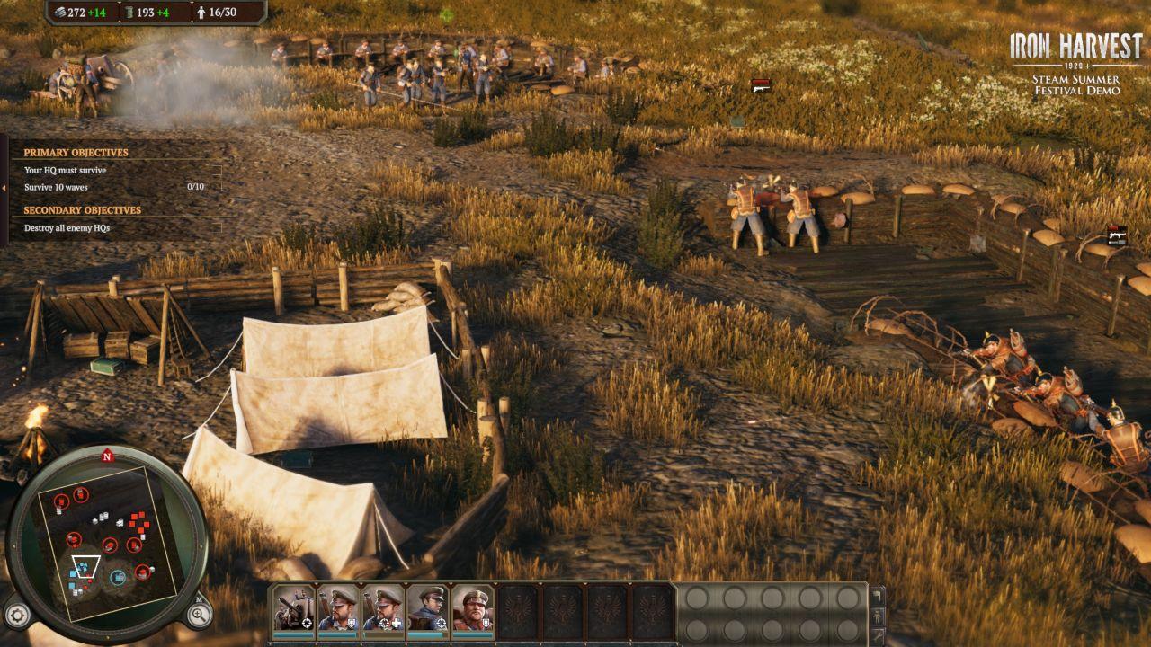 Iron Harvest Demo - Chiến tranh, Mech và Dieselpunk!