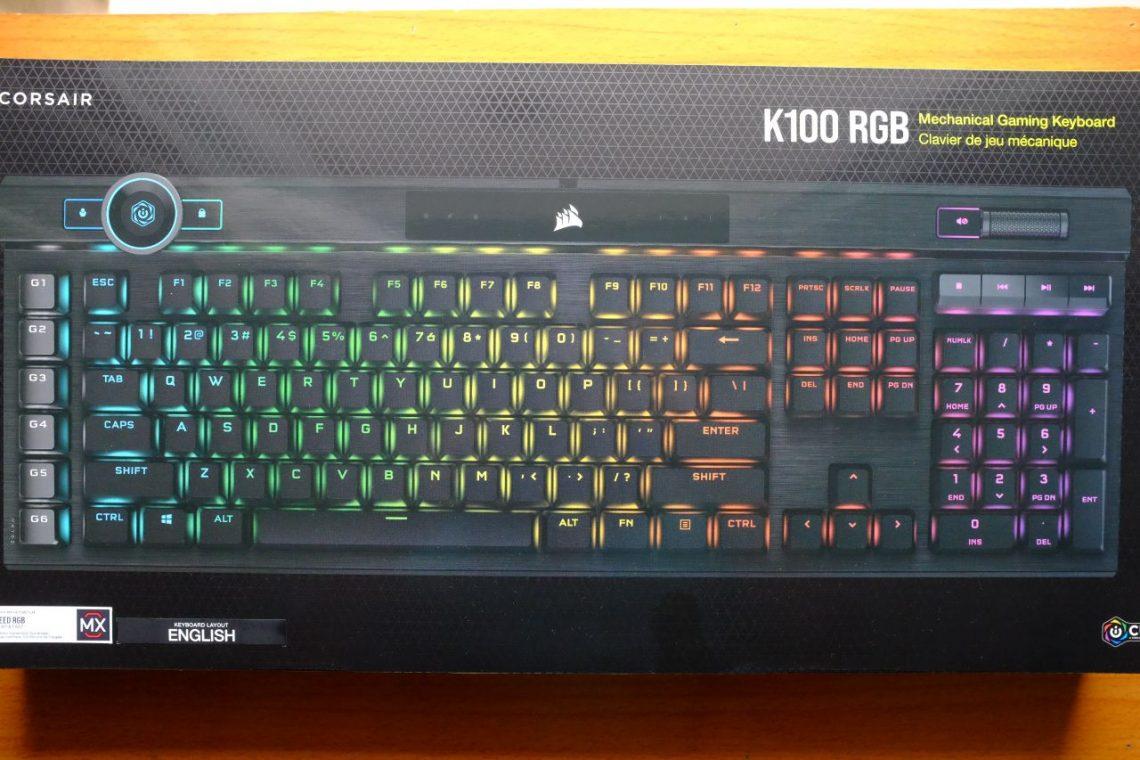 Corsair K100 RGB Mechanical Gaming Keyboard - Đánh Giá Gaming Gear