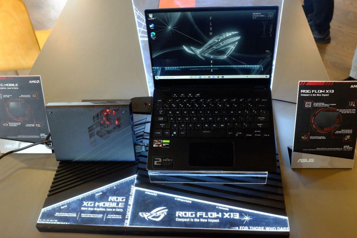 ASUS ra mắt dòng laptop ASUS ROG The Flow X13 tại Việt Nam