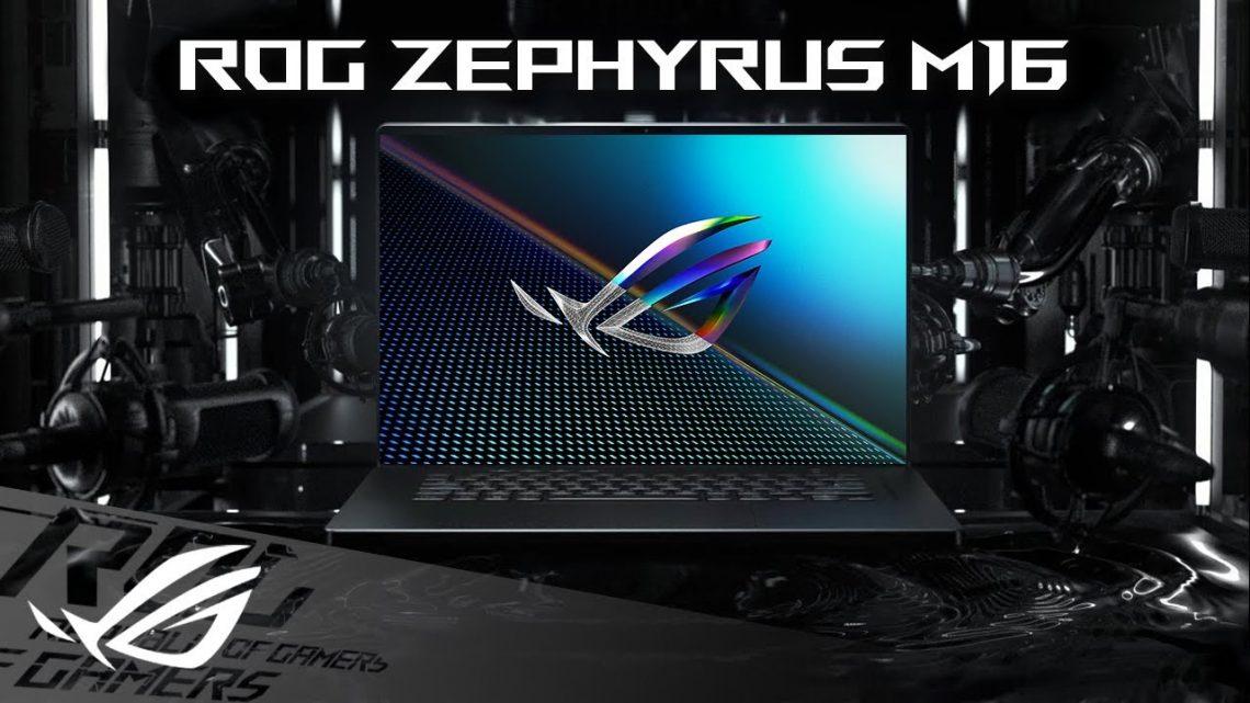 ASUS giới thiệu ROG Zephyrus M16 và S17 sử dụng CPU Intel thế hệ 11