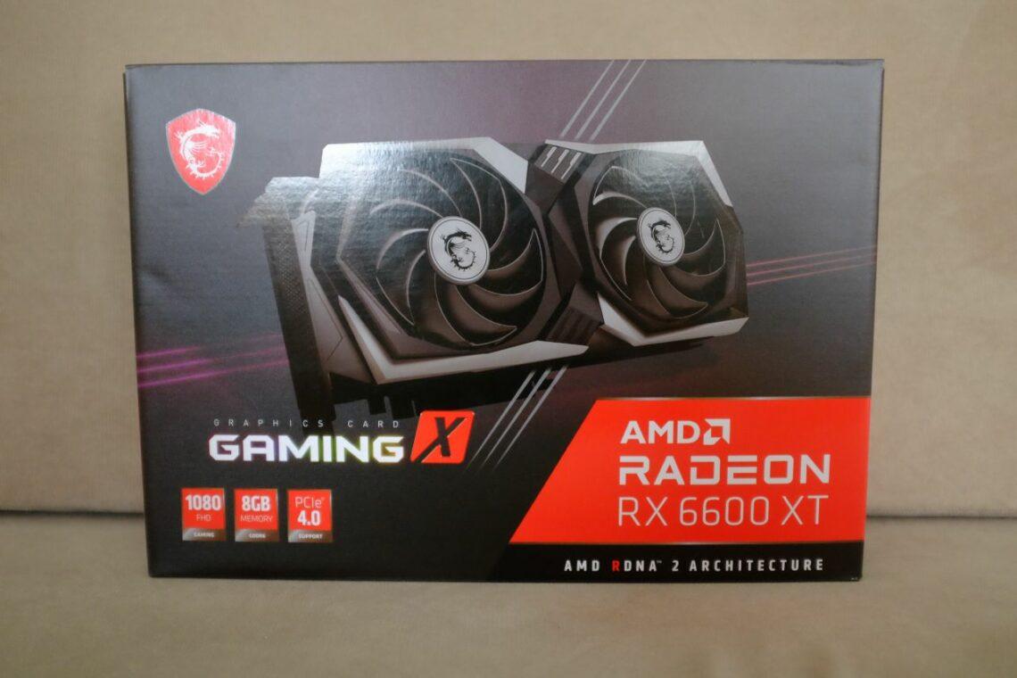 MSI RX 6600 XT Gaming X 8G - Đánh Giá Gaming Gear