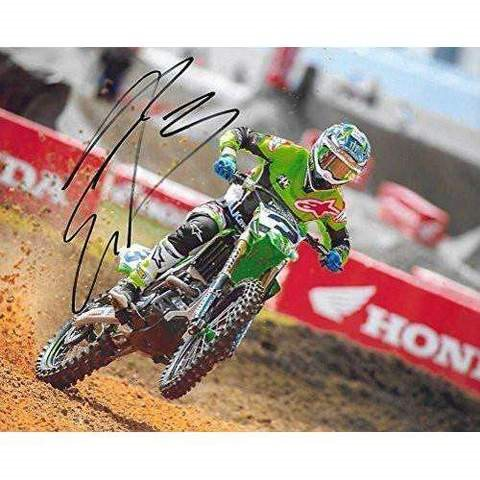 eli tomac supercross motocross signed autographed 8x10 photo a coa with the proof photo of eli signing will be included