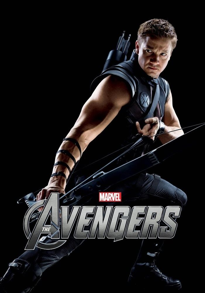 the avengers movie poster 11 x 17 inches jeremy renner poster hawkeye