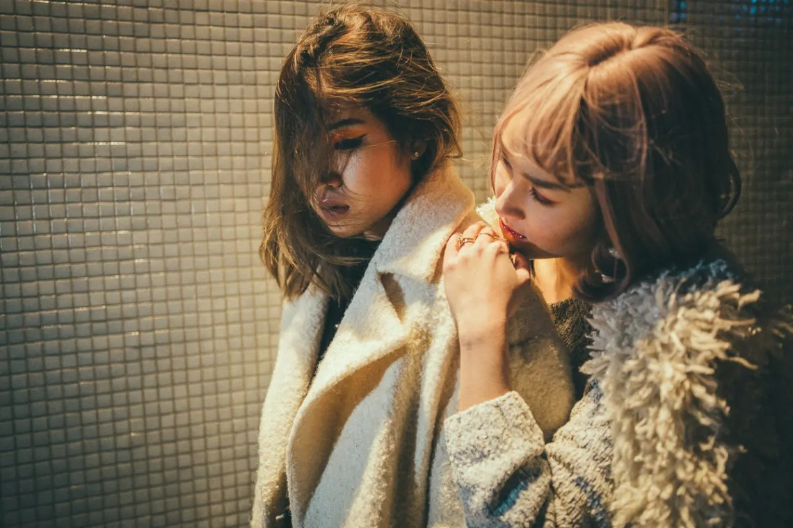 Q1A9409 What we are to each other? Fashion Portraits  asian asian girls couple lesbian portrait