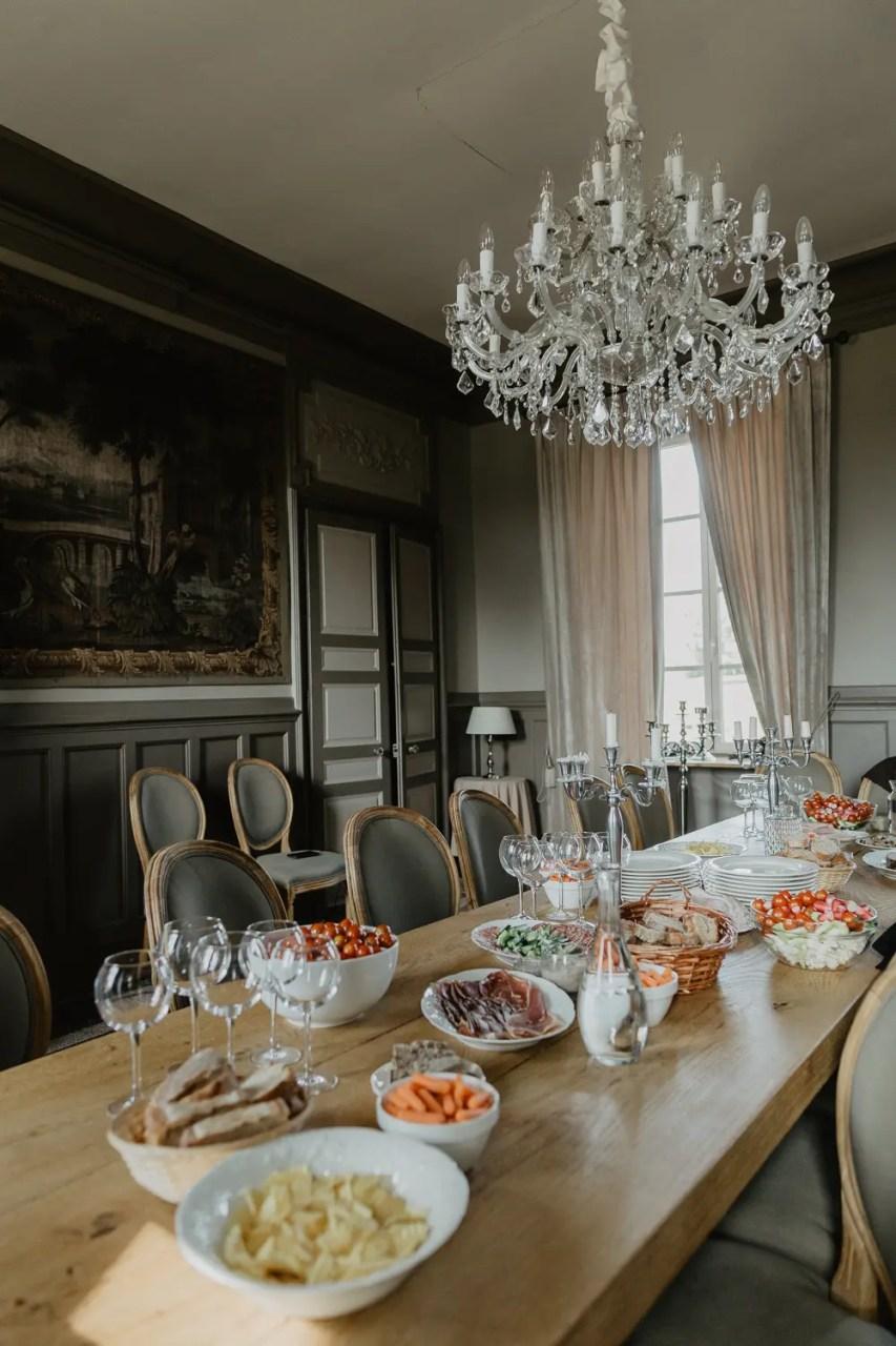 Mariage Chateau de Planchevienne brunch