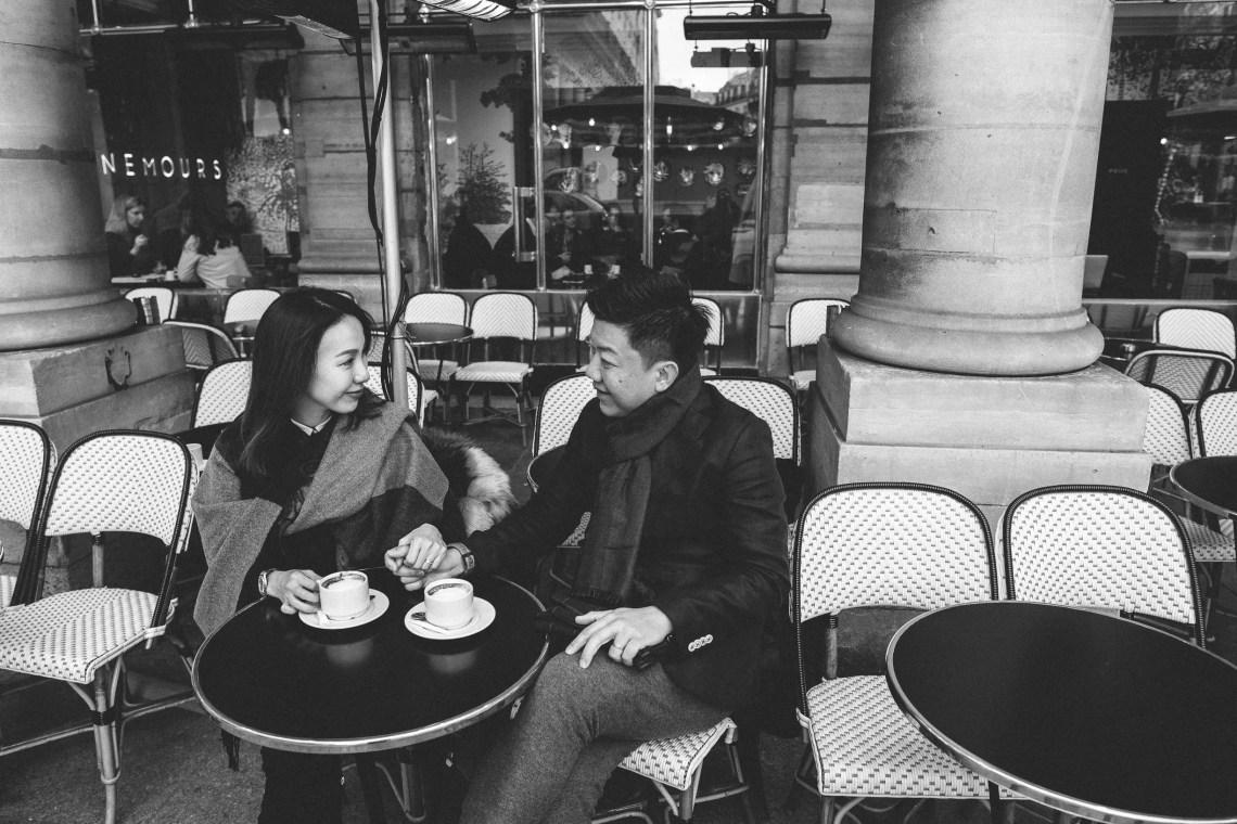 Couple photo Le Nemours Paris