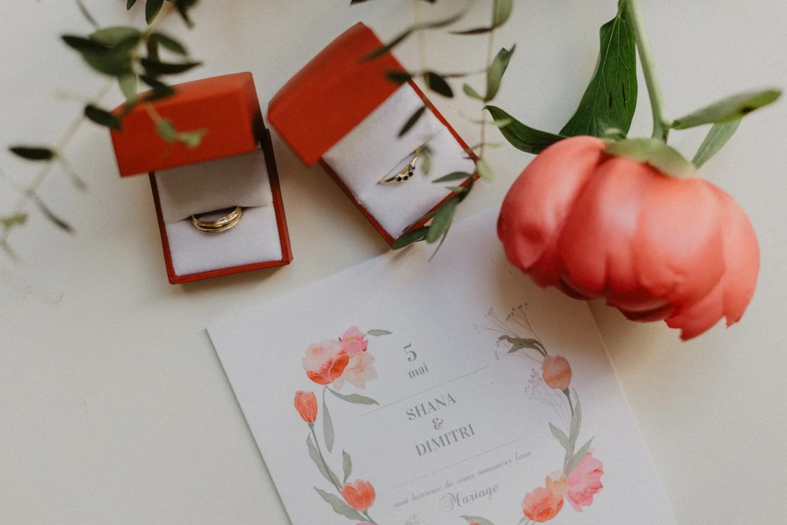 ring Surya Mathew Wedding ring invitation paris photographer