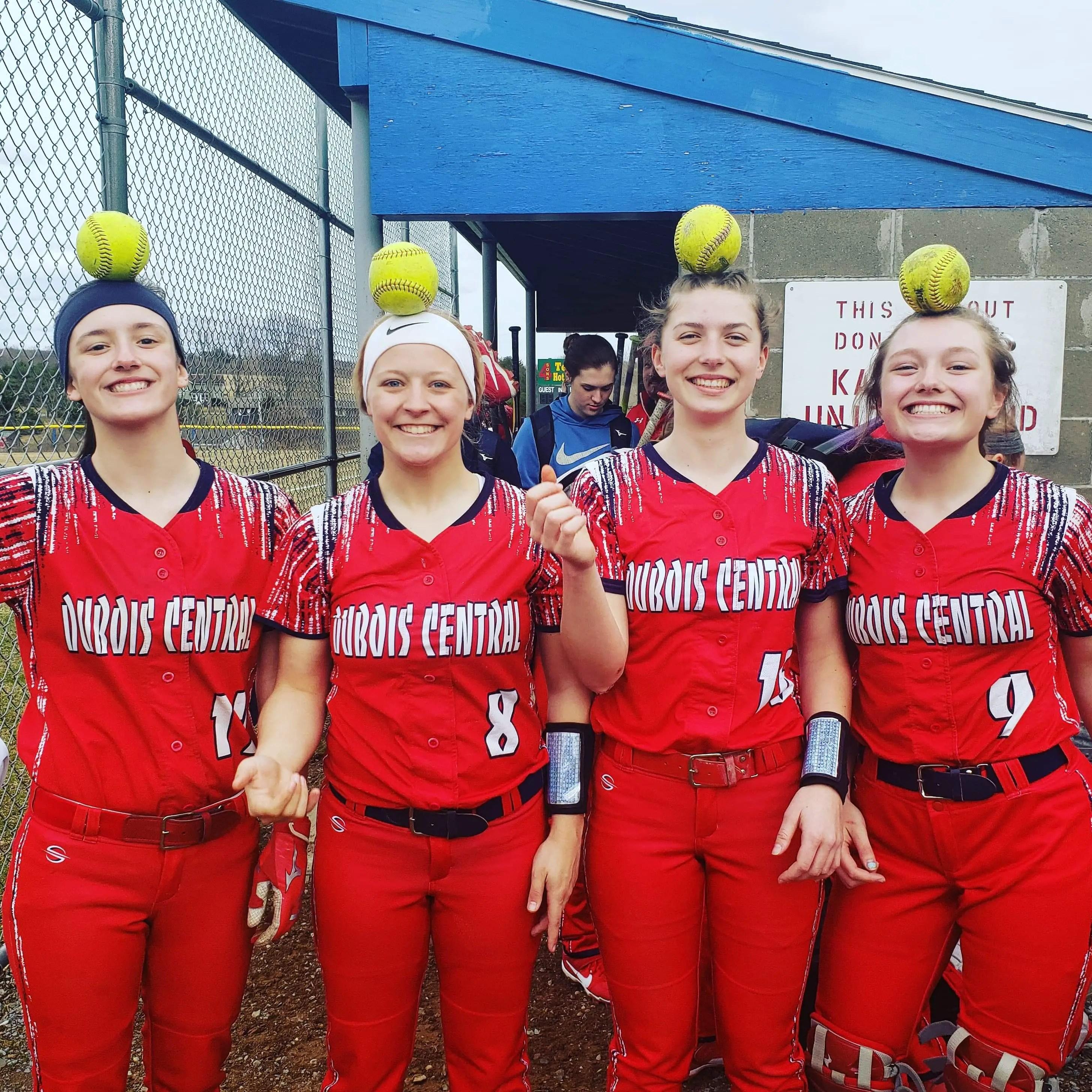 April 8 Softball Baseball Recaps Four Different
