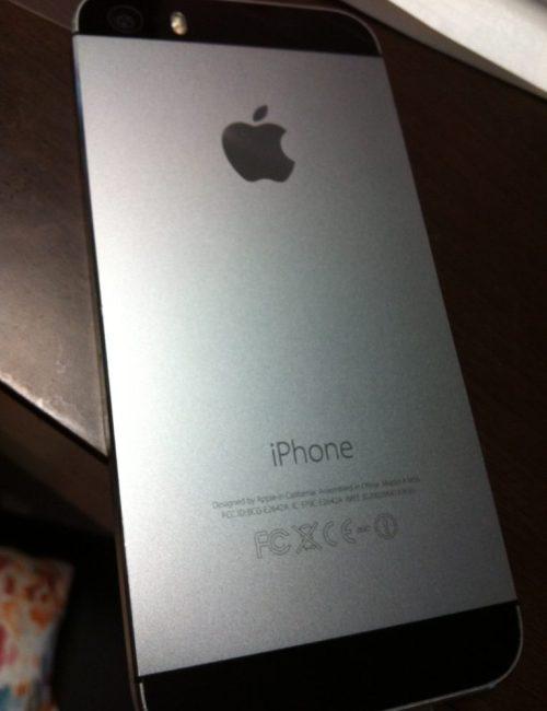 iphone5sは綺麗