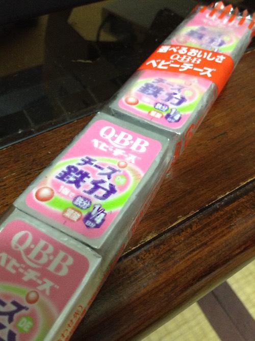 Q・B・B チーズで鉄分ベビー4個(60g)