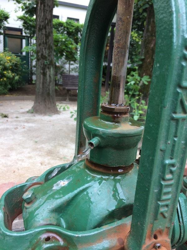 ポンプ井戸の操作方法