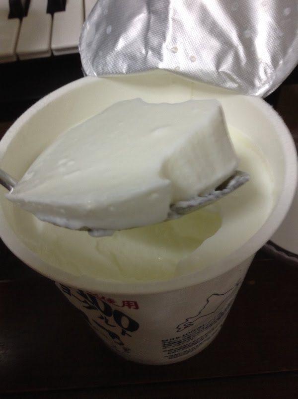 函館牛乳MILK100プレーンヨーグルトの味・食感等の感想・評価
