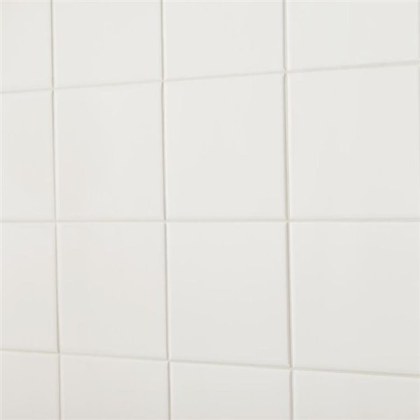 american olean 6 in x 6 in starting line 1 white gloss ceramic wall tile