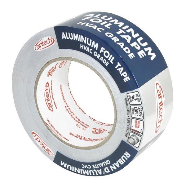 Cantech 48mm X 45m Aluminum Foil Duct Tape Lowe S Canada