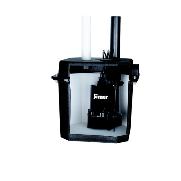 simer 1 4 hp self contained laundry sink sump pump