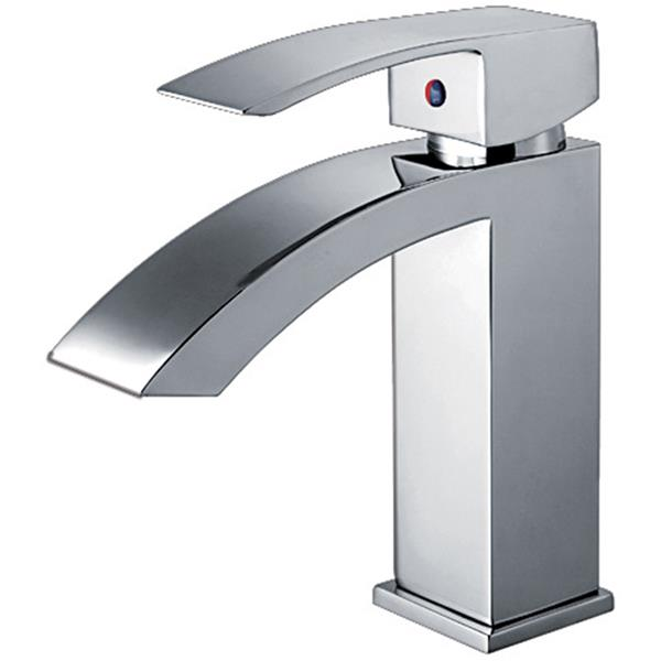 whitehaus collection single hole bath faucet with pop up drain chrome