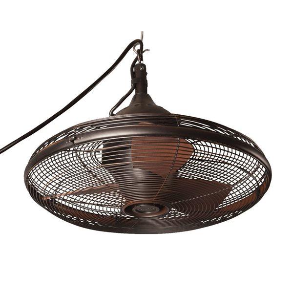 allen roth 20 in oil rubbed bronze ceiling fan 3 blade