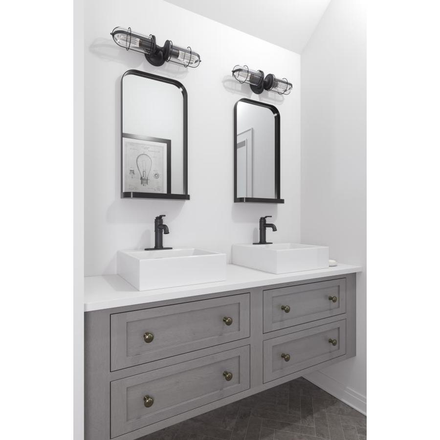 pfister breckenridge black 1 handle single hole 4 in centerset watersense bathroom sink faucet with drain valve included