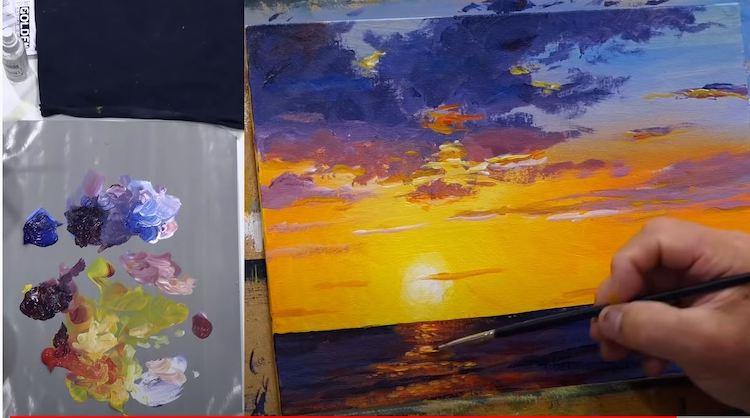 10 Astuces Pour Reussir Votre Peinture De Coucher De Soleil