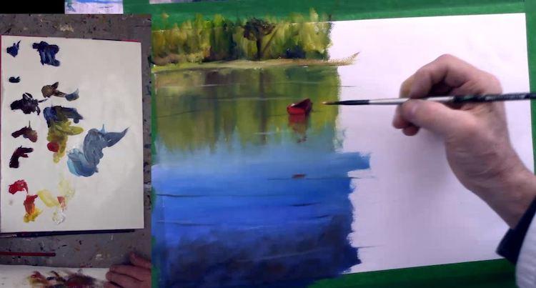 8 Astuces Pour Peindre L Eau