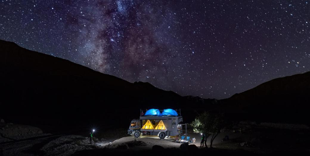 Image result for spiti valley night