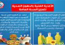 انفوجراف | وزارة الصحة تنصح المواطنين.. هذه هي الدهون الصحية التي تعزز الصحة العامة