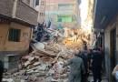 انهيار منزل من 5 طوابق في منطقة الرجبي بالمحلة.. وقوات الإنقاذ تنتشل 3 جثث وتبحث عن آخرين مفقودين أسفله