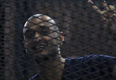 """""""العفو الدولية"""" تطالب بالإفراج عن أحمد دومة بعد أكثر من 7 سنوات في السجن والتحقيق في الانتهاكات التي تعرض لها"""