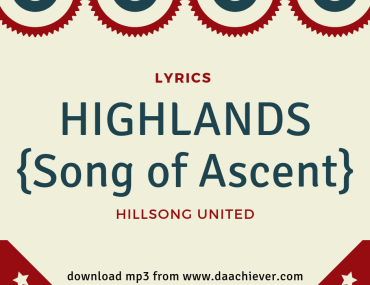 Highlands by Hillsong United