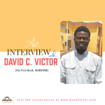 Author's Interview Episode 01 with David C. Victor