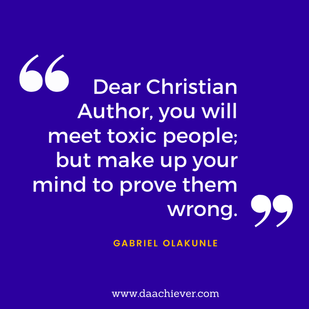 An Interview with Olakunle Gabriel on Christian Author's Interview at Daachiever Inc.