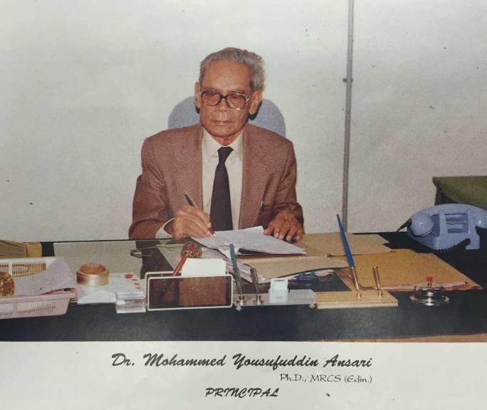 Dr. M.Y. Ansari, Principal