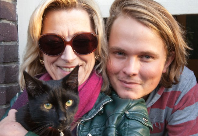 Met Pim en Dominique (2011)