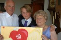 Opa en oma 50 jaar getrouwd (2004)