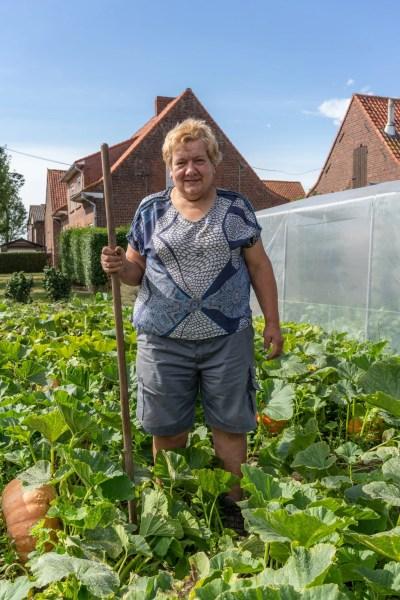 Greta, fermière de West Vlaanderen - Flandre occidentale